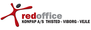 Red Office link and logo